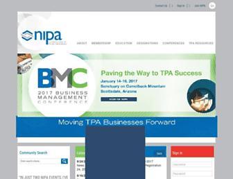 nipa.org screenshot