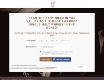 Thumbshot of Glenfiddich.com
