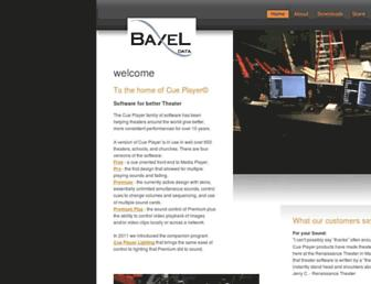 baxeldata.com screenshot
