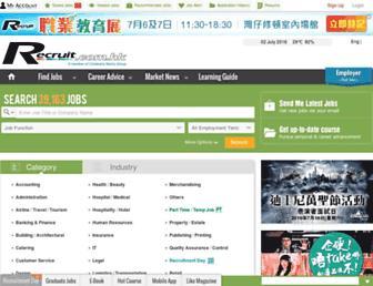 Thumbshot of Recruit.com.hk