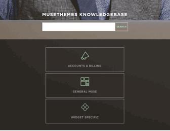 kb.musethemes.com screenshot