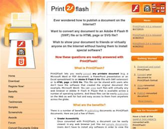 print2flash.com screenshot
