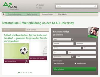 akad.de screenshot