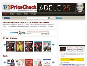 123pricecheck.com screenshot