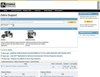 km.zebra.com screenshot