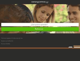 cursosycarreras.com.uy screenshot