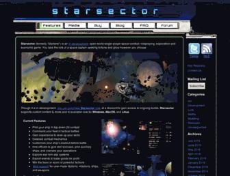 fractalsoftworks.com screenshot