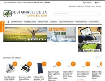 Thumbshot of Sustainable.co.za