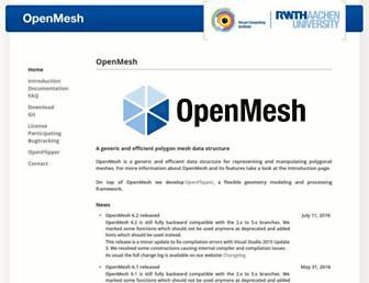 openmesh.org screenshot