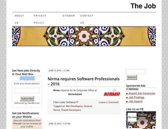 thejob.in screenshot