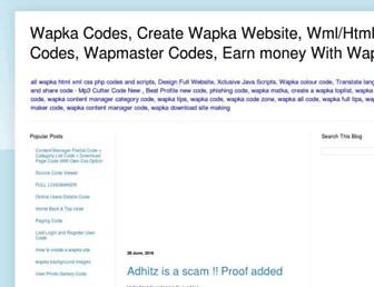 makewapka.blogspot.com screenshot