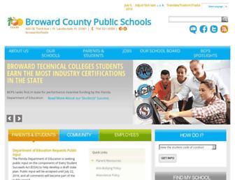 broward.k12.fl.us screenshot