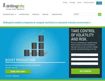 info.drillinginfo.com screenshot