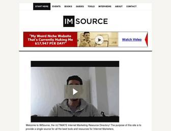 imsource.org screenshot