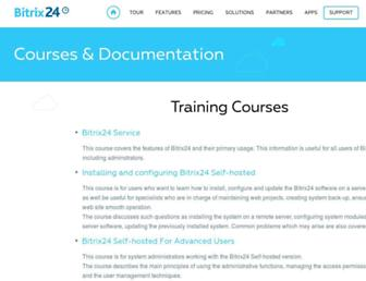 training.bitrix24.com screenshot