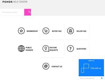 help.pond5.com screenshot