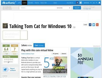 talking-tom-cat.en.softonic.com screenshot