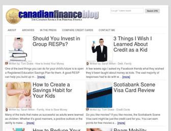 Thumbshot of Canadianfinanceblog.com