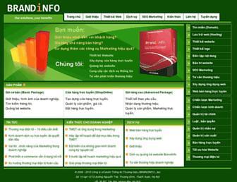 brandinfo.biz screenshot
