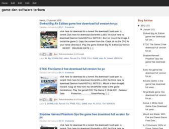 game-software2012.blogspot.com screenshot