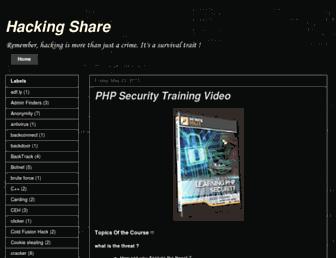 hacking-share.blogspot.com screenshot