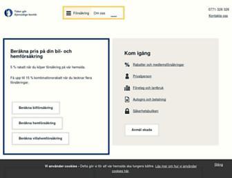 gjensidige.se screenshot