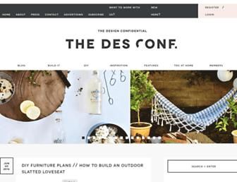 Thumbshot of Thedesignconfidential.com