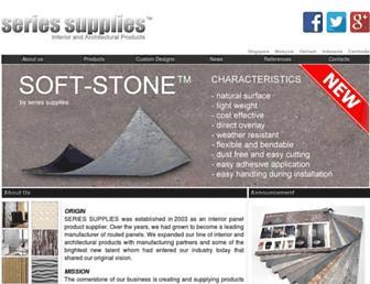 seriessupplies.com screenshot