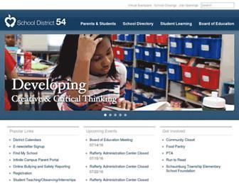 sd54.org screenshot