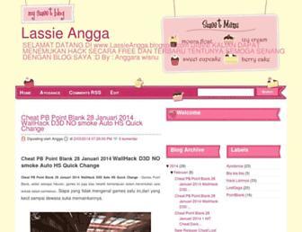 lassieangga.blogspot.com screenshot