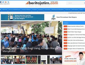 beritajatim.com screenshot