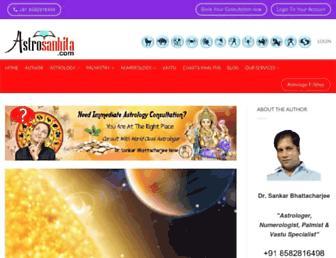 astrosanhita.com screenshot