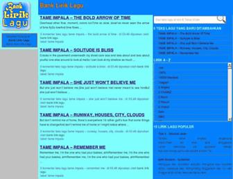 bankliriklagu.blogspot.com screenshot