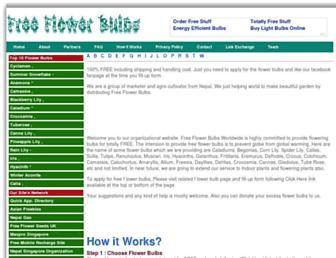 Thumbshot of Freeflowerbulbs.com