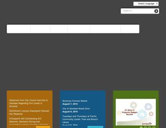 glendaleca.gov screenshot