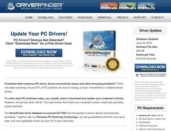 Thumbshot of Driverfinderpro.com