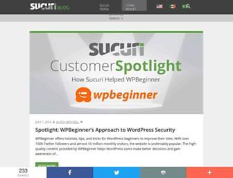 blog.sucuri.net screenshot