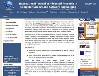 ijarcsse.com screenshot