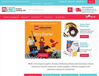 teaching.com.au screenshot