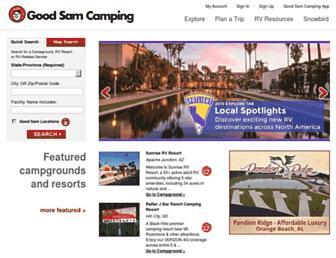 Thumbshot of Goodsamcamping.com