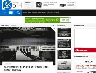 Thumbshot of Servethehome.com