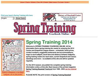 springtrainingmagazine.com screenshot
