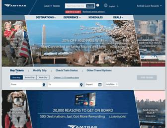 Thumbshot of Amtrak.com