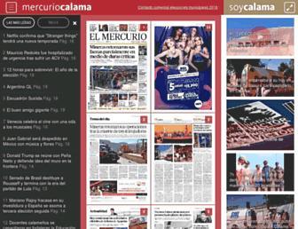 mercuriocalama.cl screenshot