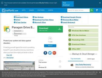 paragon-drive-backup-personal.en.softonic.com screenshot