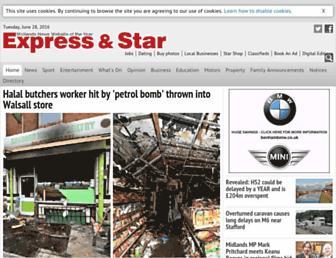 Thumbshot of Expressandstar.com