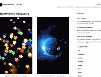 hdiphone6wallpapers.net screenshot