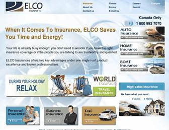 elco.ca screenshot