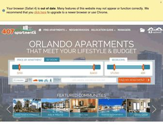 407apartments.com screenshot
