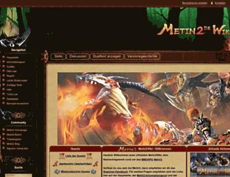Thumbshot of Metin2wiki.eu